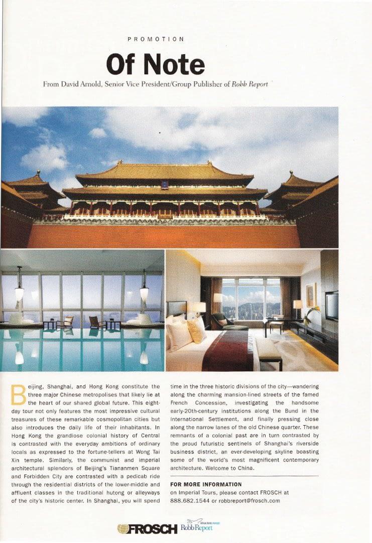 Image of Beijing, Shanghai & Hong Kong Promotion
