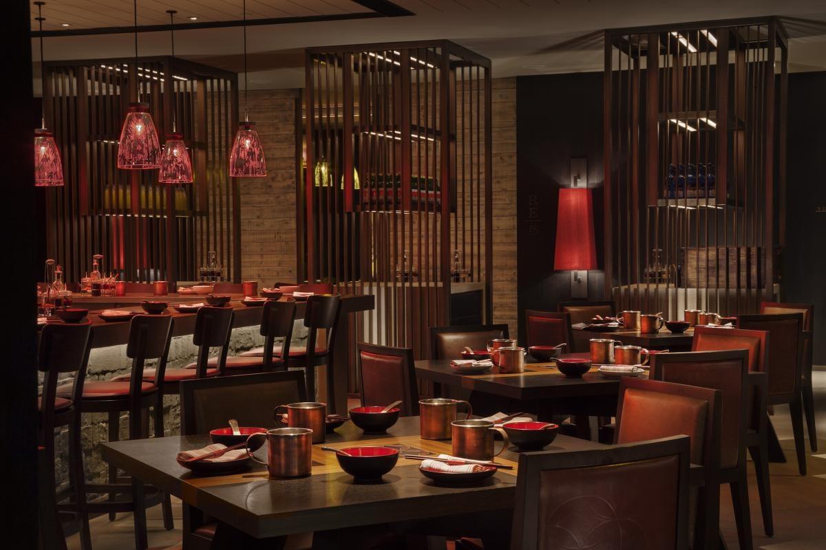 Red Bowl restaurant, Rosewood hotel Beijing