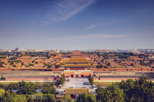View over Beijing's Forbidden City