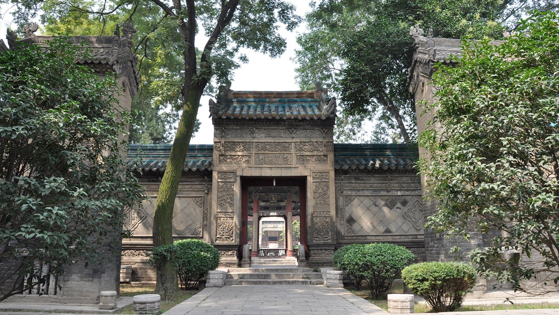 Great Mosque & Muslim Quarter~Xi'an's Muslim community is descended from the Arab Muslims who ventured here along the silk road in the fourth century. They helped create one of the world's first multicultural cities and are proud of their long history in China.
